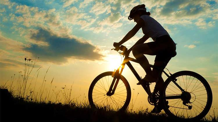 How cyclists simulate the great outdoors